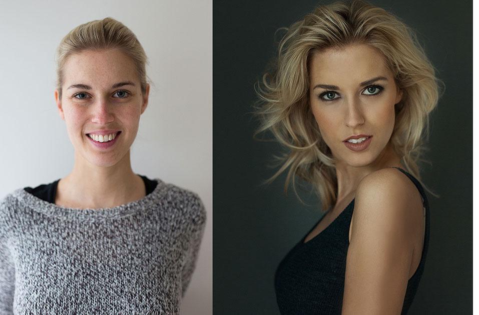 Starmayr, Fotografie, Vorher Nachher, Portraits, Business, Profilbilder, Visagistin 4