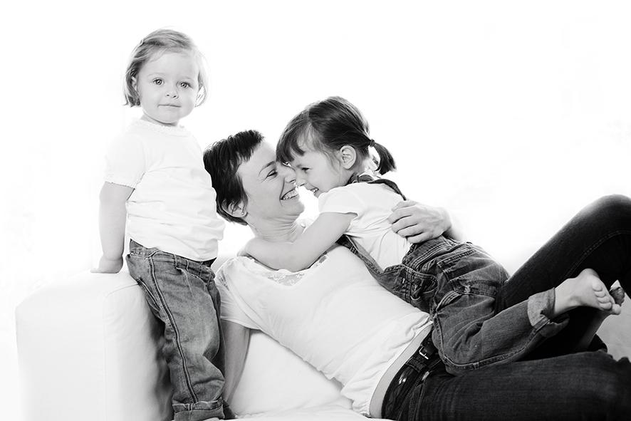 Kinder und Familienbilder