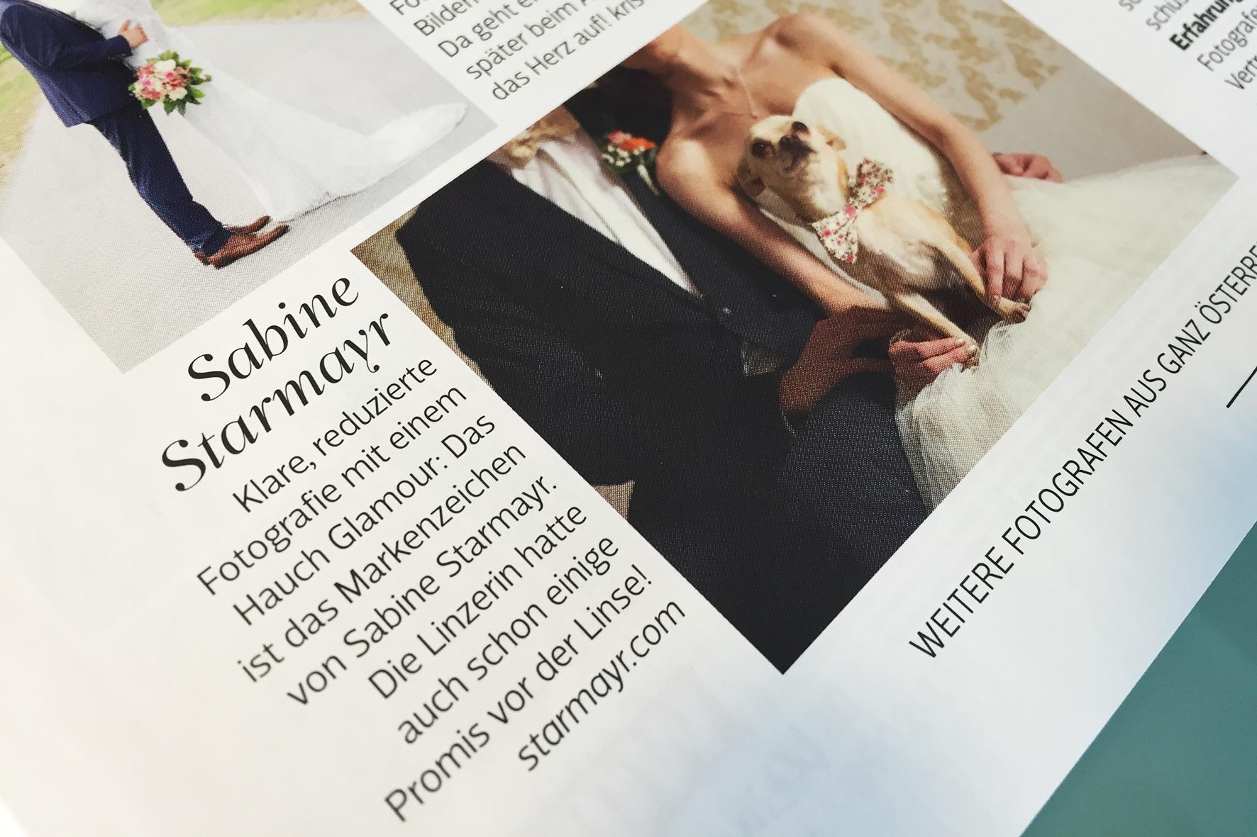 Sabine Starmayr, Beste Hochzeitsfotografin Österreichs